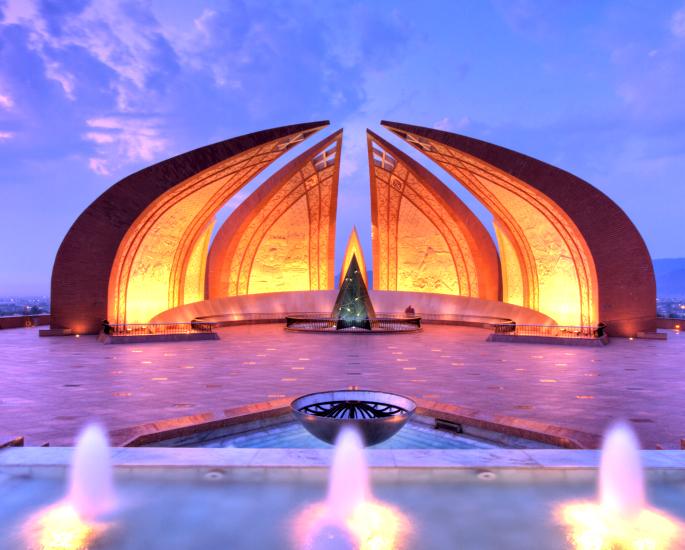 Famous Sculptures of Pakistan - pakistan monument