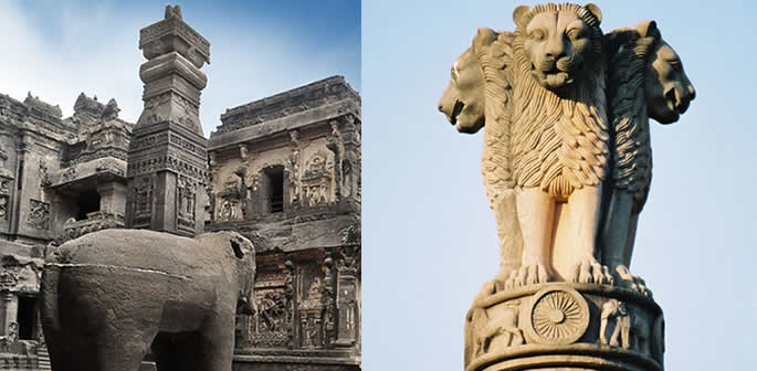 Famous and Unique Sculptures of India f