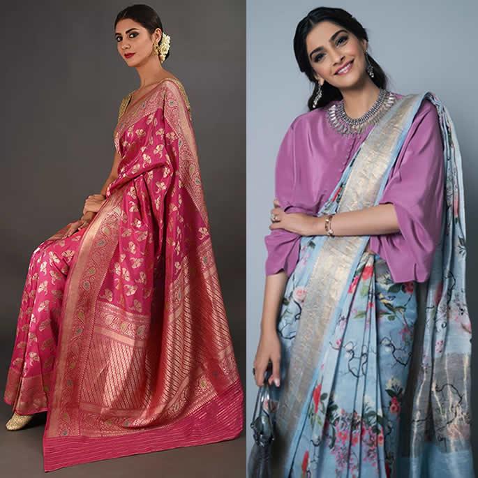 Gorgeous Saree Fashion Trends For 2019
