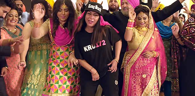 Hard Kaur drops Aunty Dance Kar her First Punjabi Rap song f