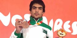 Inayatullah wins First Medal for Pakistan at 2018 Youth Olympics