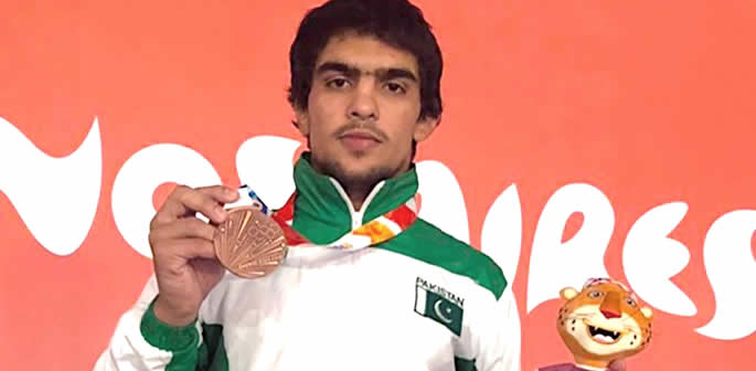 Inayatullah bags first medal for Pakistan at 2018 Youth Olympics f