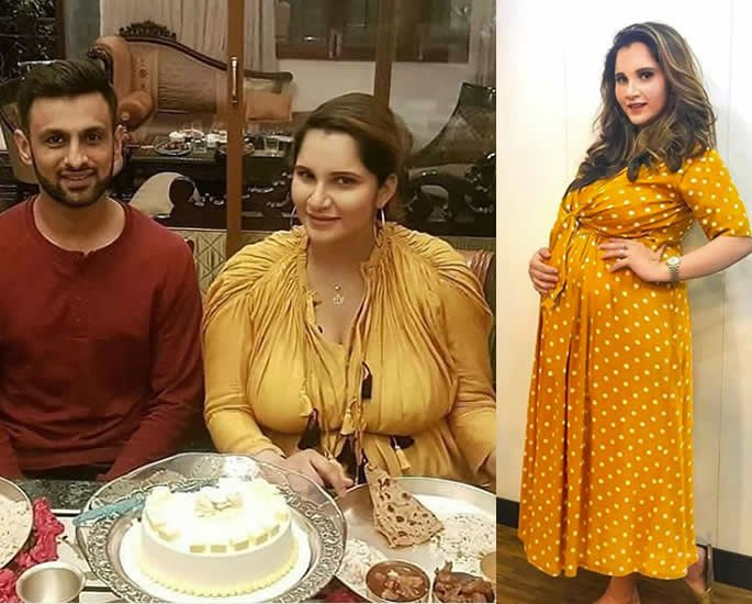 It's a Baby Boy for Sania Mirza & Shoaib Malik pregnant