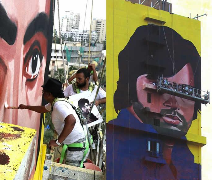 ہندوستان کے قابل ذکر گرافٹی اور اسٹریٹ آرٹسٹ۔ رنجیت دہیہ