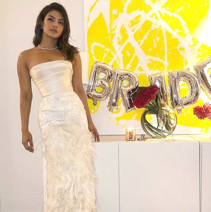 Priyanka Chopra celebrates Bridal Shower in New York bride