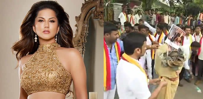 Protests Increase against Sunny Leone Film Role and Show f