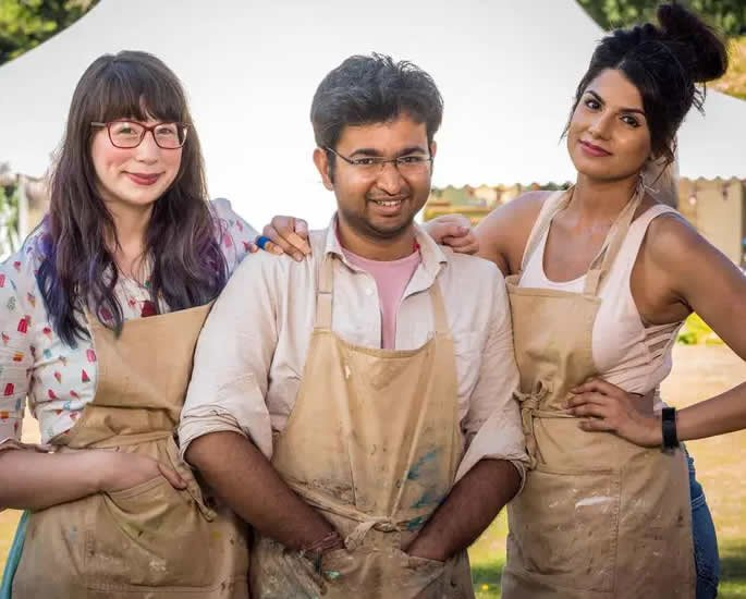 Rahul wins The Great British Bake Off 2018 all three