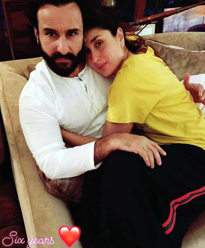 Saif Ali Khan and Kareena Kapoor balance life with Baby Taimur - 6th anniv