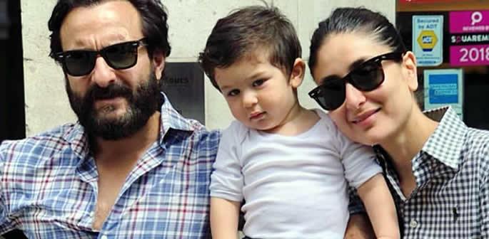 Saif Ali Khan and Kareena Kapoor balance life with Baby Taimur f
