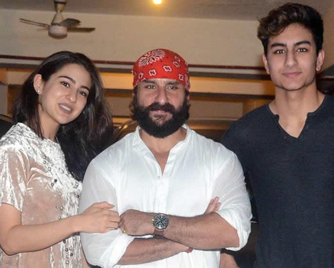 Saif Ali Khan reveals son Ibrahim aspires to be Bollywood Star sara ibrahim