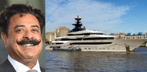 Shahid Khan brings £140m Superyacht 'Kismet' to the UK f
