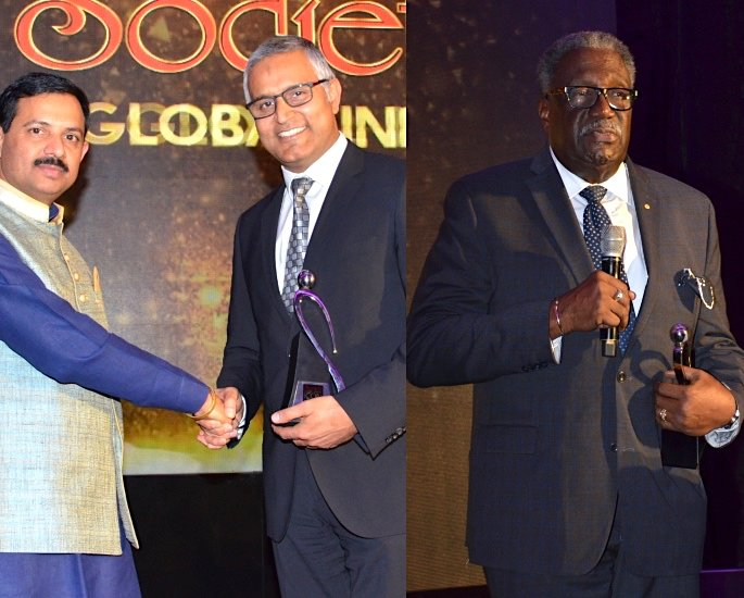 Society Global Indian Icon Awards Atul Kochhar and Clive Lloyd