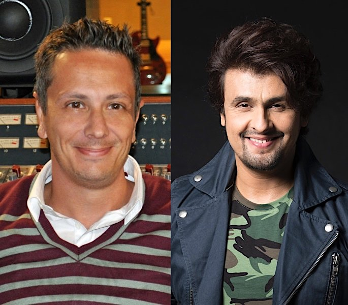Sonu Nigam releases Hall of Fame single with Jason Goldstein - sonu nigam and jason goldstein