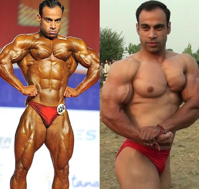 The Most Famous Bodybuilders of India - hira lal