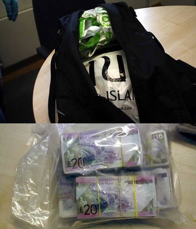 Two Men convicted for Laundering £200K in Shopping Bags bag