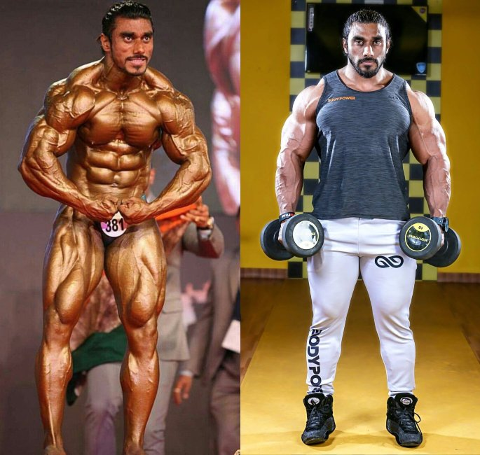 The Most Famous Bodybuilders of India - sangram