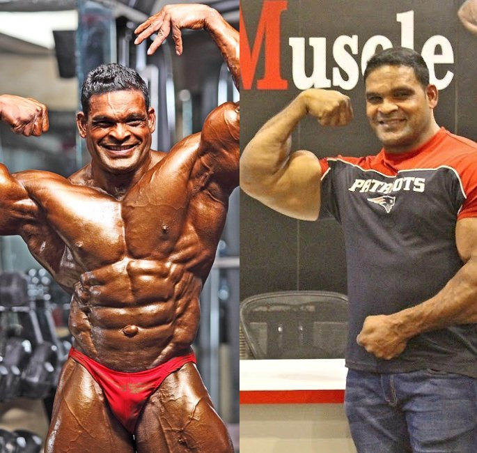 The Most Famous Bodybuilders of India - rajendran