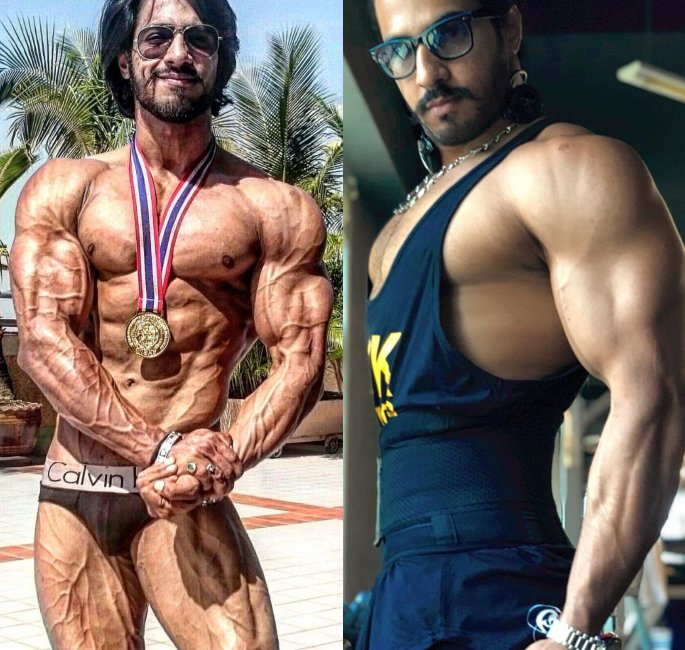 The Most Famous Bodybuilders of India - thakur