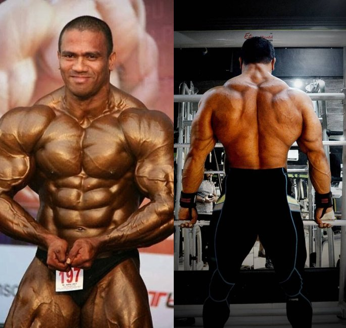 The Most Famous Bodybuilders of India - amit