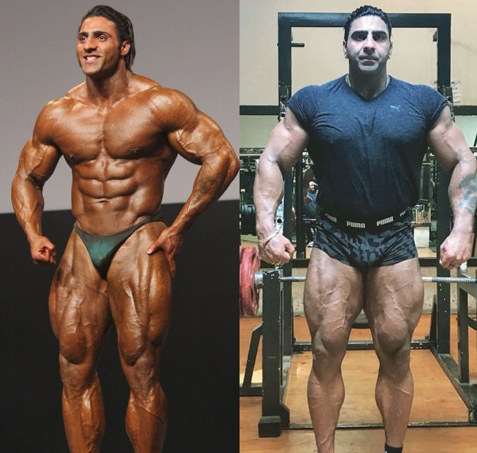 The Most Famous Bodybuilders of India - varinder
