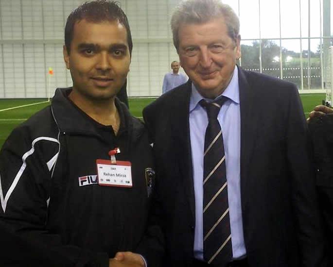 british asian football coaches - rehan mirza