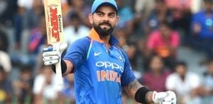 Virat Kohli is fastest batsman to get 10,000 runs in ODI Cricket f