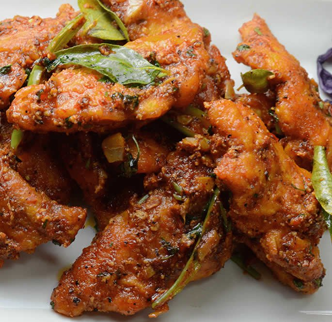 seafood curries - apollo fry fish