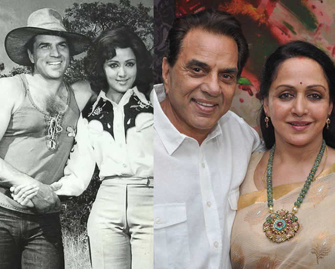10 Real Life Bollywood Couples Who were On Screen Jodis - DM hema