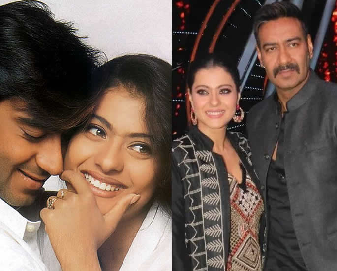 10 Real Life Bollywood Couples Who were On Screen Jodis - kajol devgn