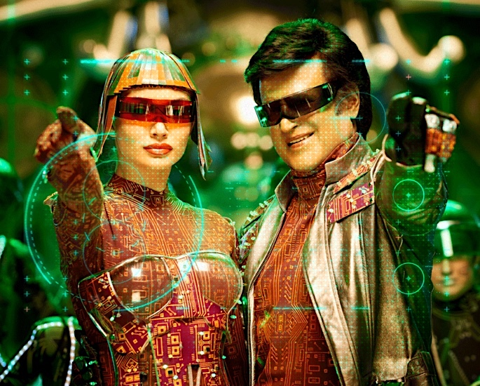 5 Key Things To Know About 2.0 Robot 2 - Rajinikanth amy jackson