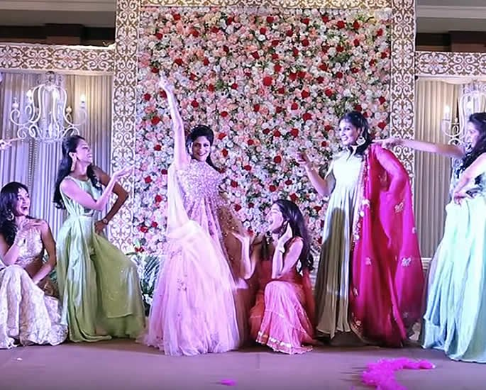 7 Best Sangeet Dance Performances at Desi Weddings - bride