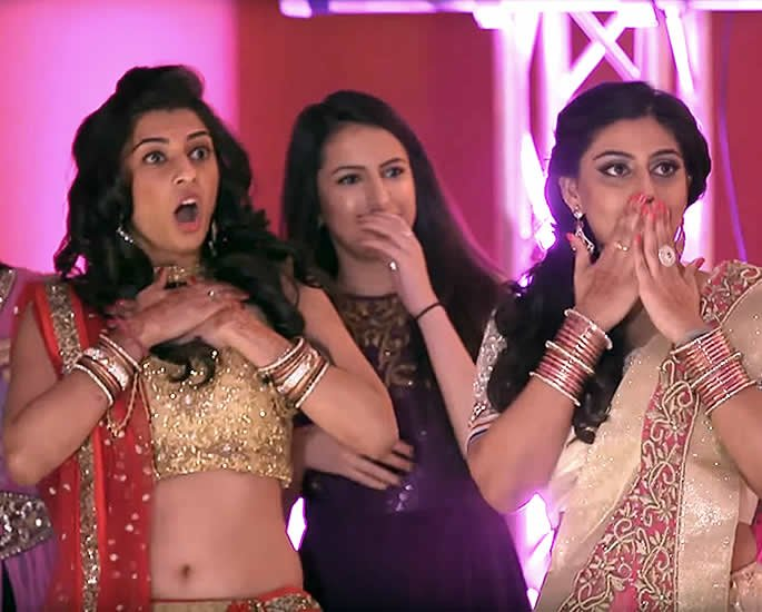 7 Best Sangeet Dance Performances at Desi Weddings - cousins