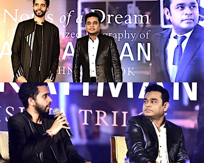 AR Rahman talks suicidal thoughts in Notes of A Dream AR Rahman Krishna Trilok