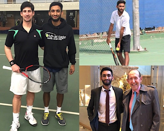 Abdul Ahmed: A Rising British Asian Tennis Star - Training, Fitness and Game
