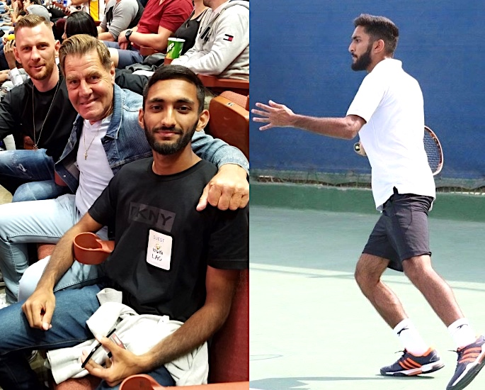 Abdul Ahmed: A Rising British Asian Tennis Star - coaches and support
