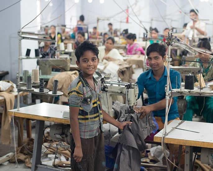 Bangladesh Garment Factories Any Progression since Rana Plaza - children working