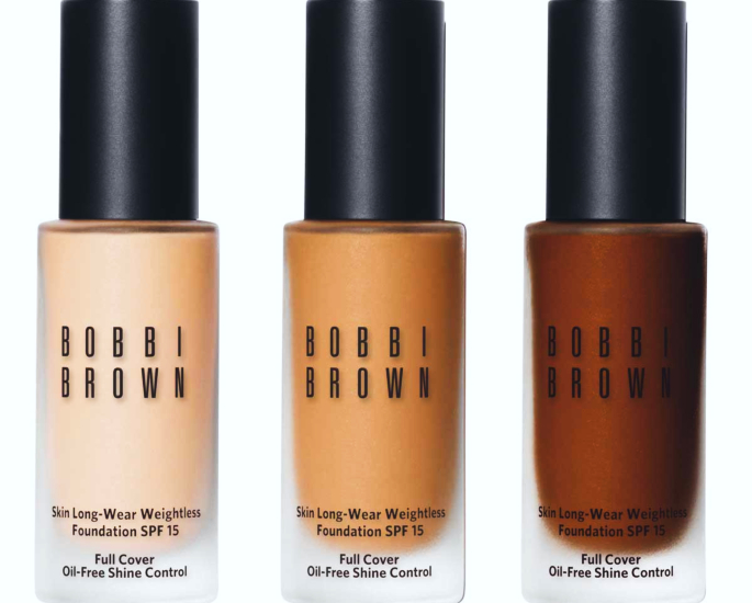 Bobbi Brown skin long-wear weightless foundation 12 best foundations - in article