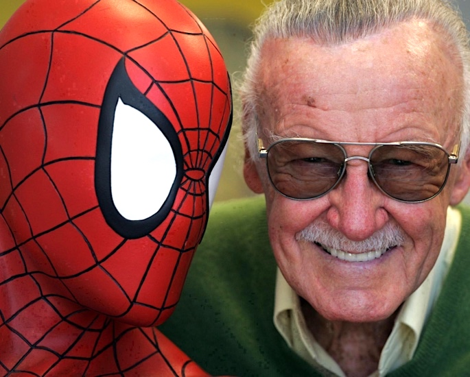 ollywood showers Tributes for Marvel's Stan Lee - stan lee spider man