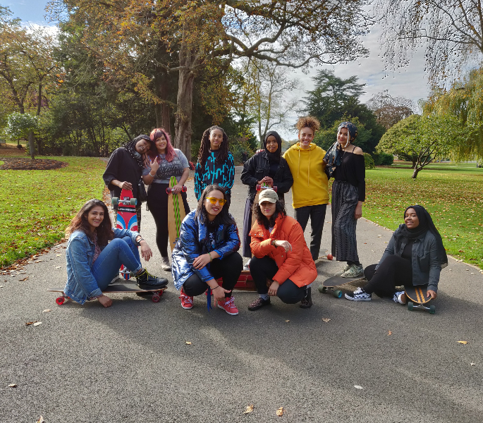 Calling British Asian Girls Get Longboarding With GirlDreamer - Boarders Without Borders Crew
