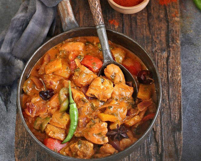Desi Recipes which are 500 Calories or Less - jalfrezi