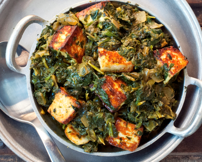 Desi Recipes which are 500 Calories or Less - paneer