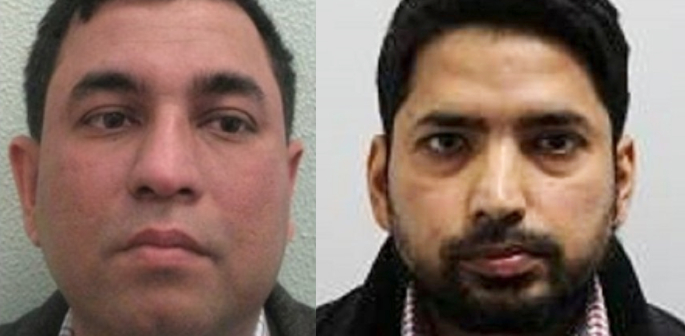 Fake Visa scammers who also Stole £13m from HMRC Jailed f