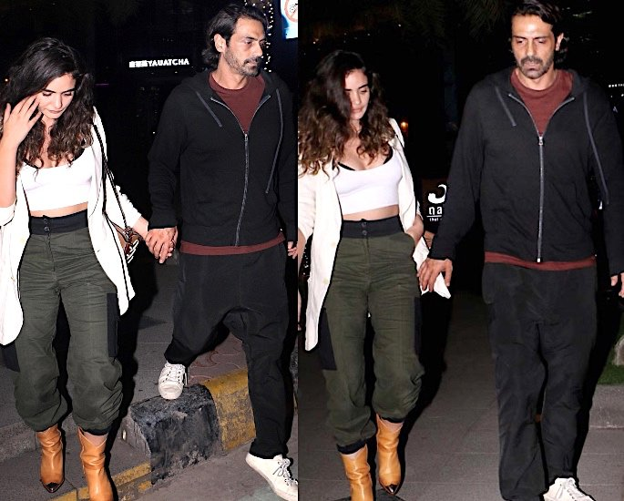 Is Arjun Rampal dating model Gabriella Demetriades? Arjun Rampal Gabriella Demetriades
