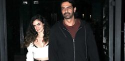 Is Arjun Rampal dating model Gabriella Demetriades?
