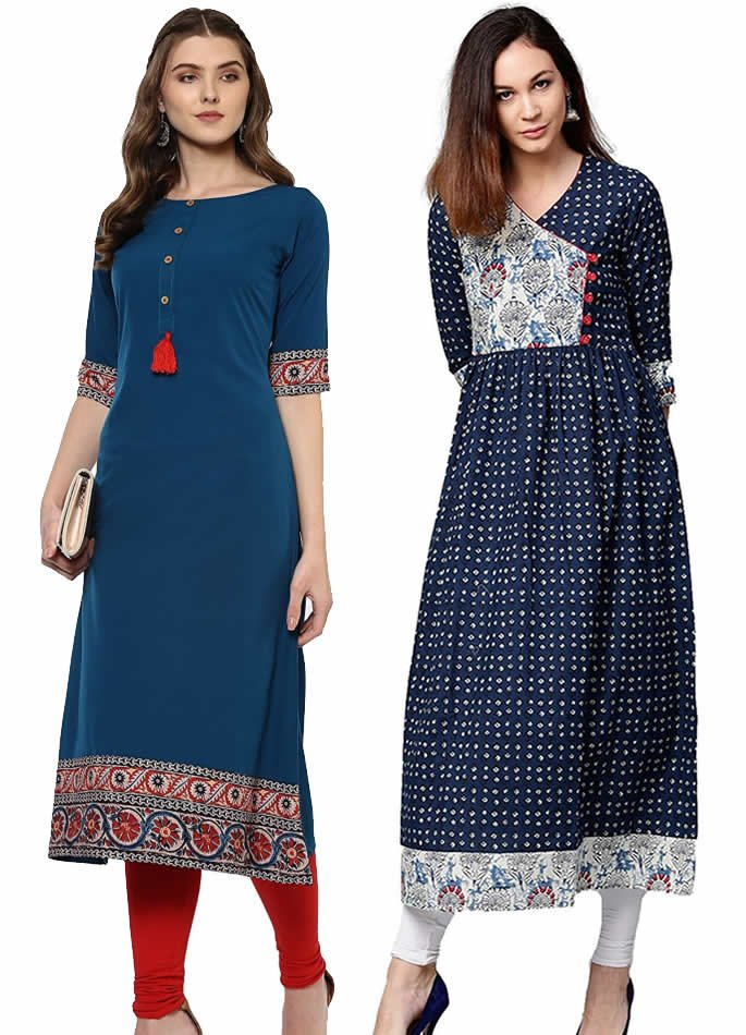Kurta and Kurti Styles you can Wear with Anything - A-Line