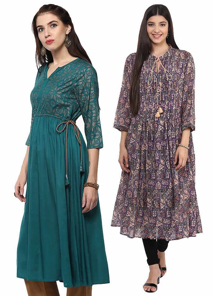 Kurta and Kurti Styles you can Wear with Anything - Flared
