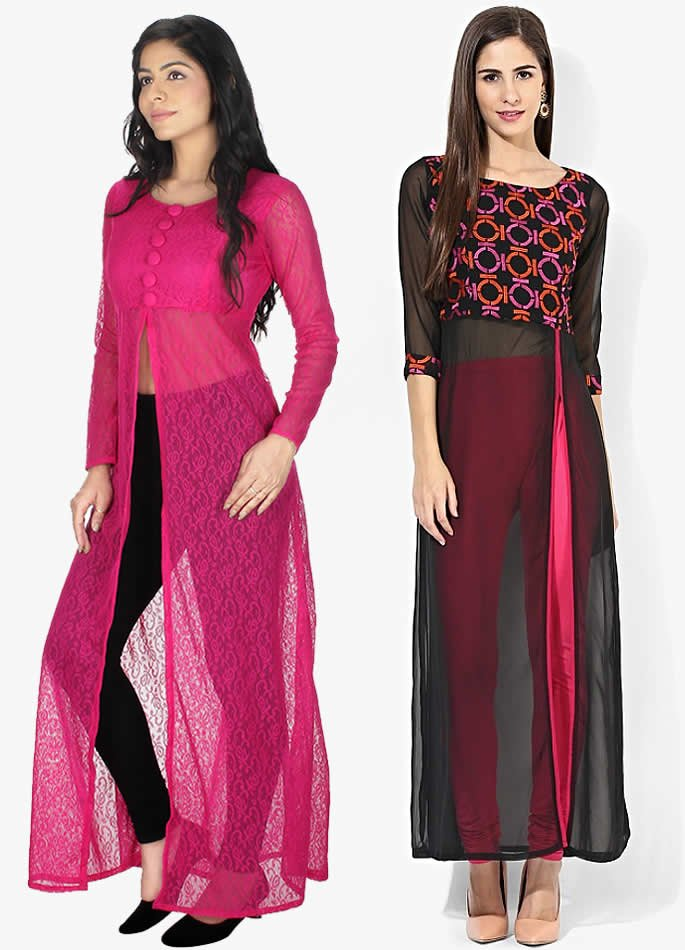 Kurta and Kurti Styles you can Wear with Anything - Front Slit