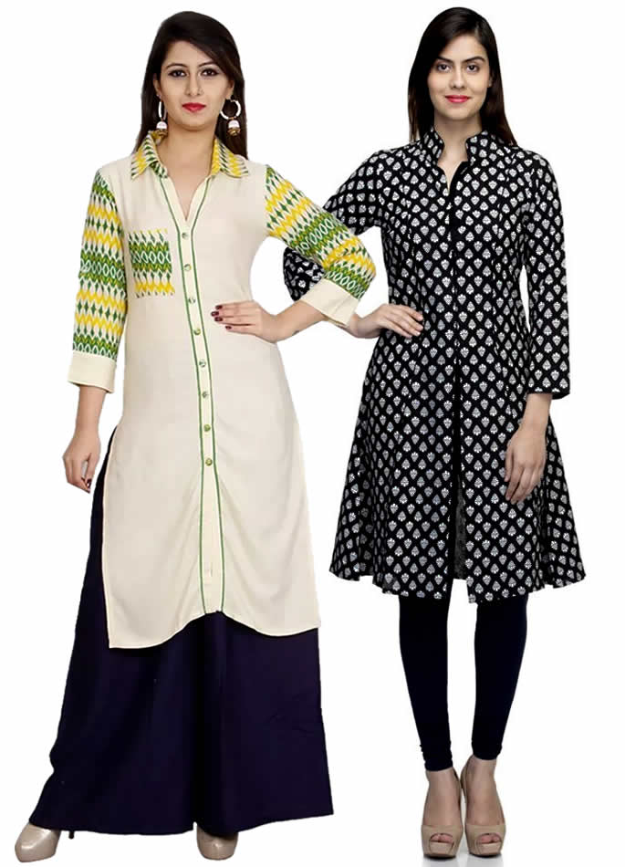 Kurta and Kurti Styles you can Wear with Anything - Shirt Style