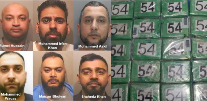 Luton Gang jailed for Smuggling Cocaine worth £5 million f