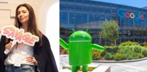 Mahira Khan Geeks out at Google and Facebook HQ f